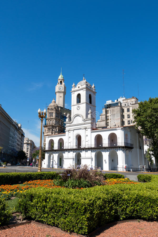 Historic City Hall (Cabildo), Buenos Aires Argentinien. Historic City Hall (Cabildo) of Buenos Aires Argentinien stock photos