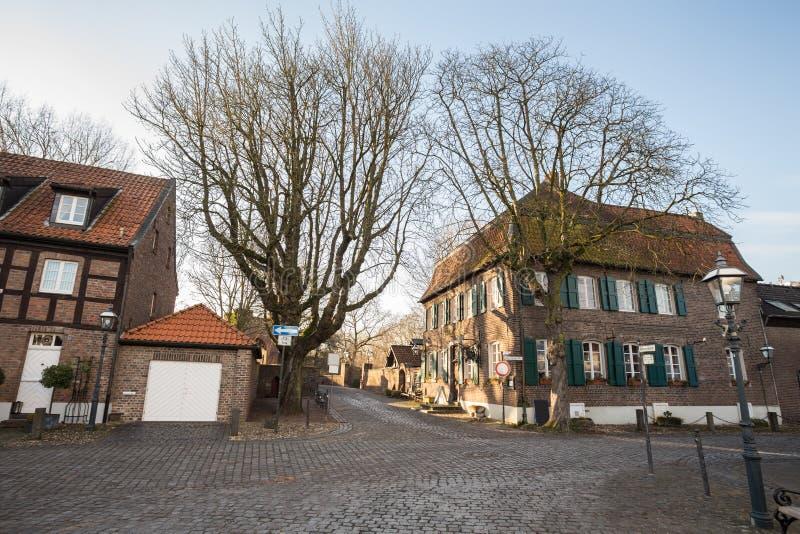 Historic city linn krefeld germany. The historic city linn krefeld germany royalty free stock photos