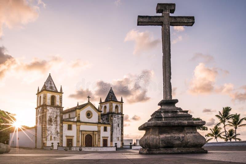 Olinda in Pernambuco, Brazil. The historic city of Olinda in Pernambuco, Brazil stock image