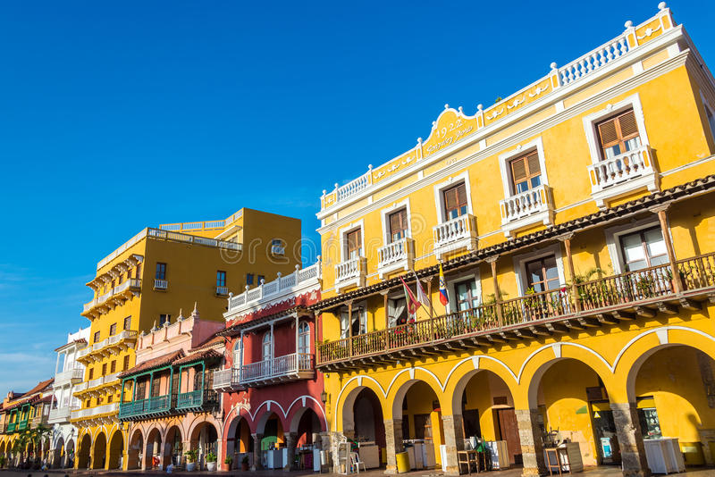 Historic Colonial Architecture stock image