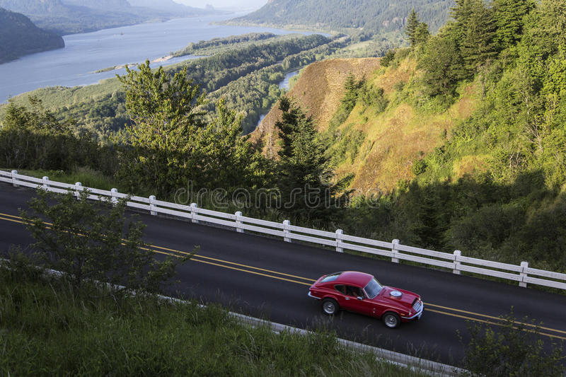 Historic Columbia River Highway, Oregon stock image