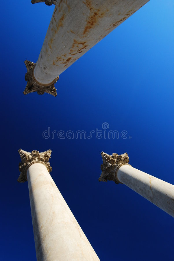 Download Historic Columns And Capitals Stock Photo - Image: 8177130