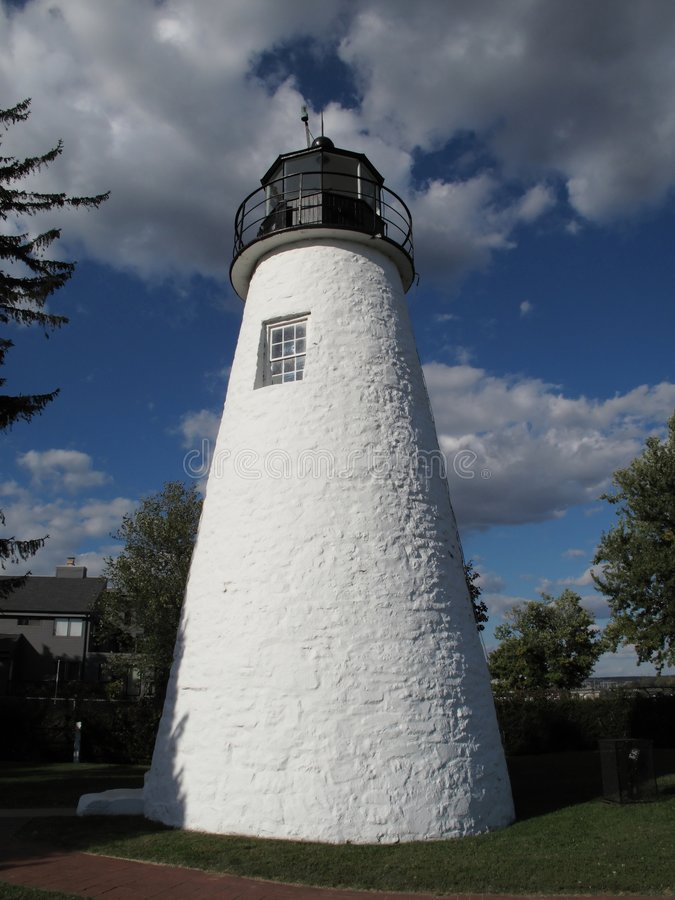 Download Historic Concord Lighthouse Stock Image - Image: 6815369
