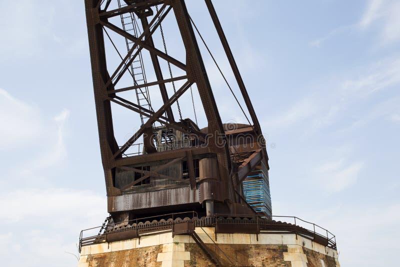 Historic Crane II stock photos