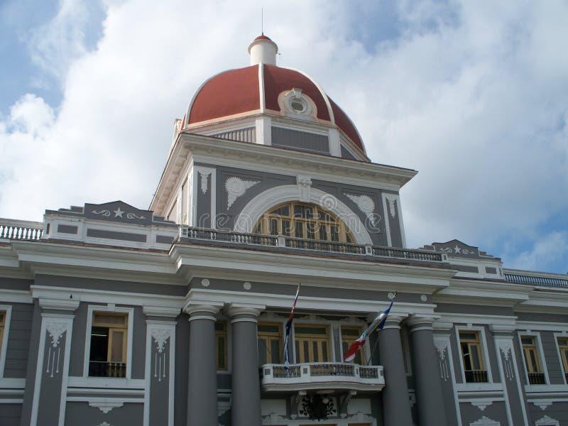 Historic Cuban government building stock photo