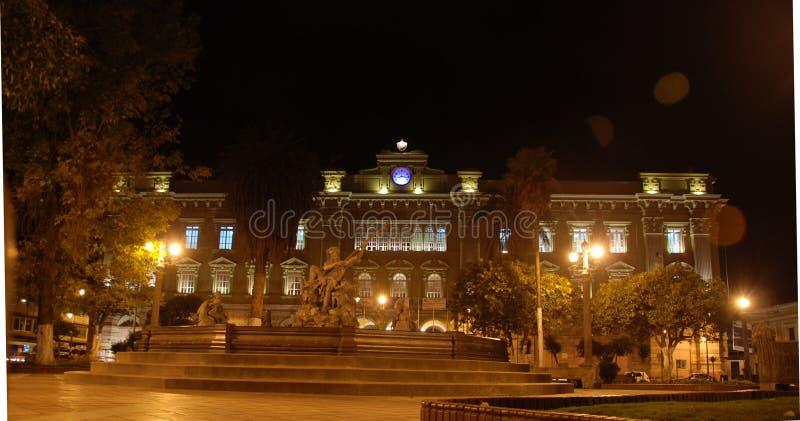 Historic Ecuadorian building royalty free stock images