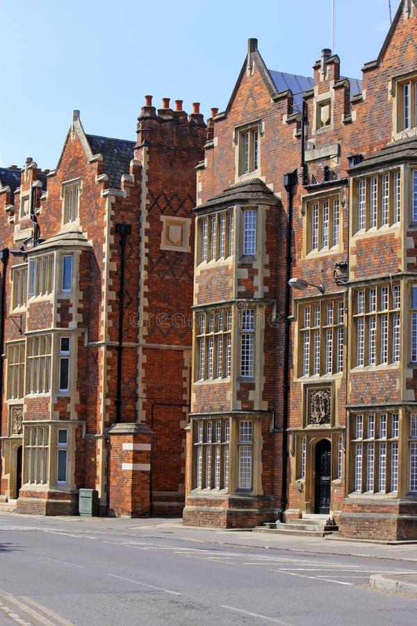 Historic English Houses royalty free stock photo