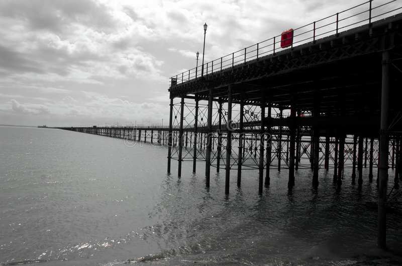 Download Historic English Pier stock photo. Image of fashioned, traditional - 191118