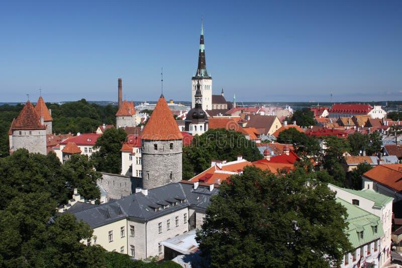 Historic Estonia stock photo
