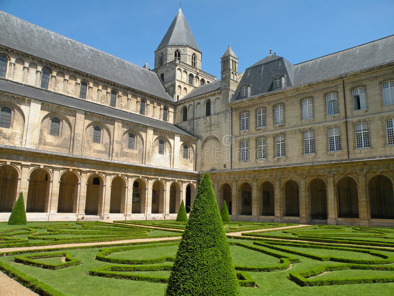 Download Historic European Abbey stock image. Image of attraction - 14140277