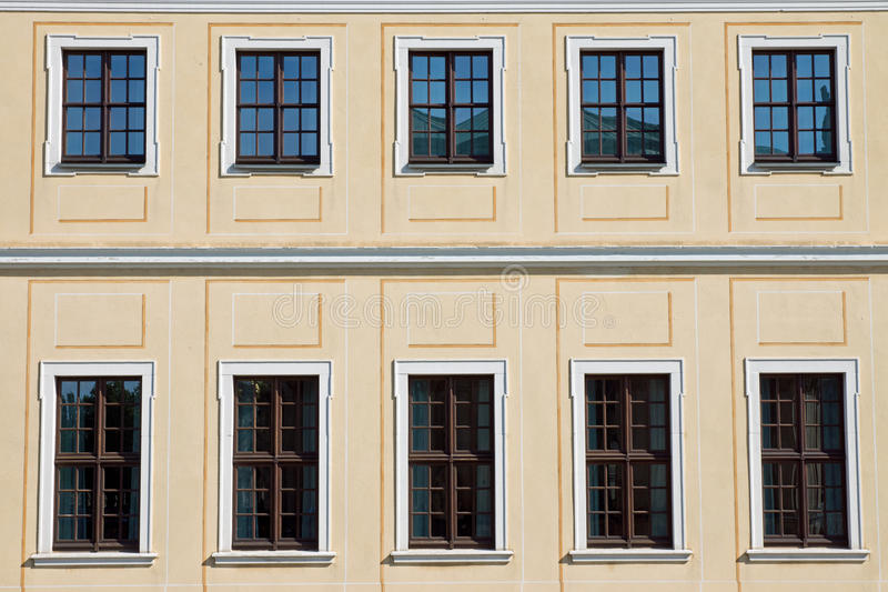 Download Historic facade in Dresden stock image. Image of history - 26595137