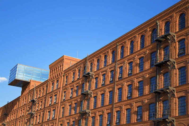 Download Historic Factory Building Style. Royalty Free Stock Photos - Image: 10504228