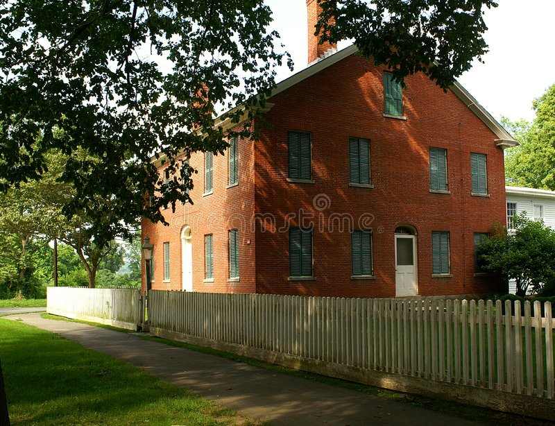 Historic Federal House Royalty Free Stock Images