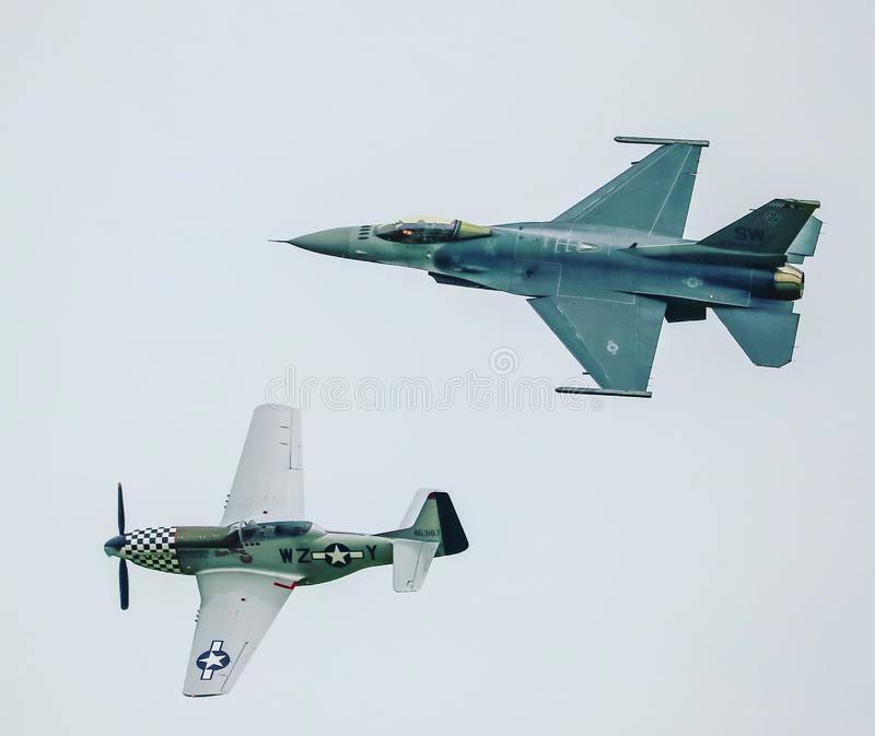 Historic flight stock photography