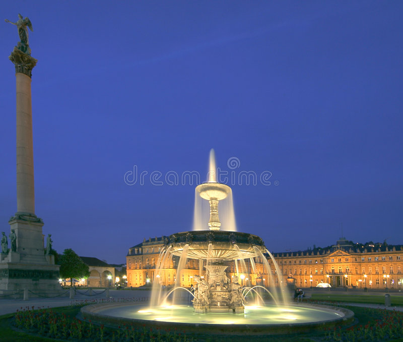 Historic Fountain stock images