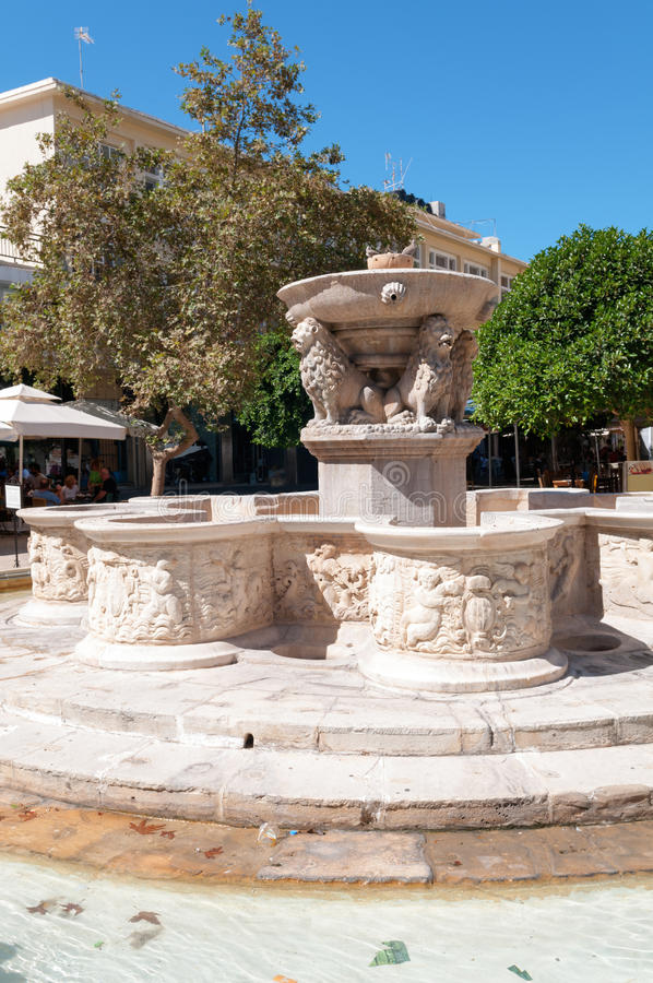 Historic Fountain Stock Photo