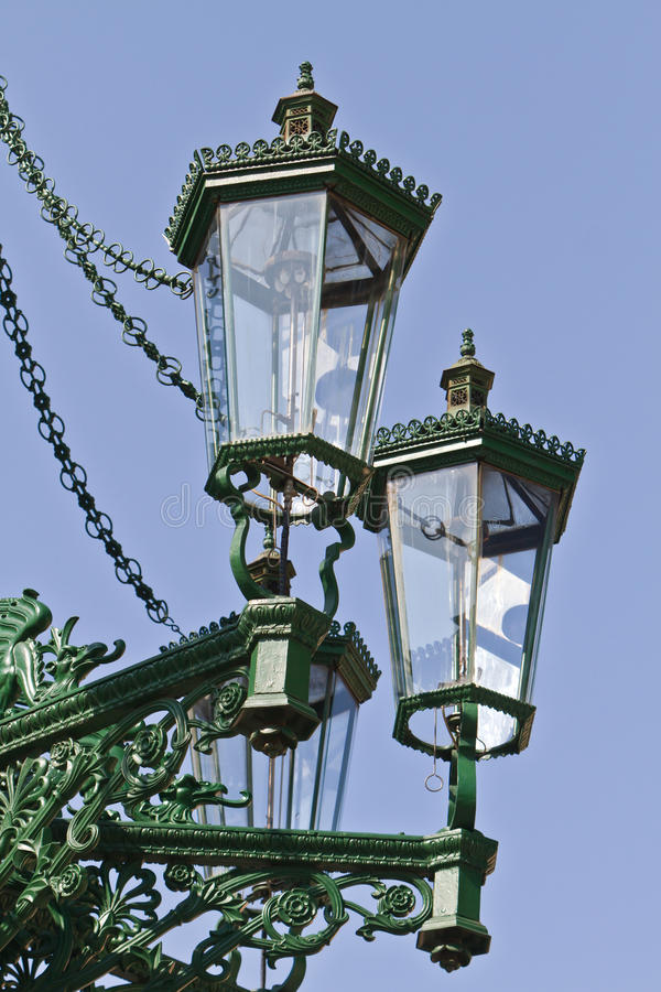 Download Historic Gas Lamp-post In Prague Stock Photo - Image: 24293056