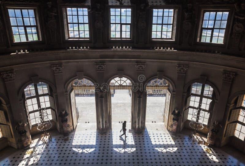 Historic gateway at Vaux-Le-Vicomte palace royalty free stock photos