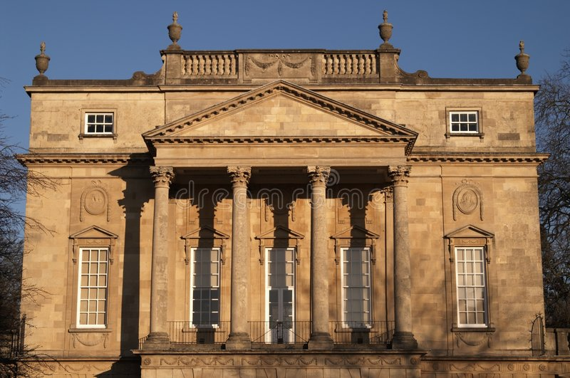 Historic Georgian Building royalty free stock image