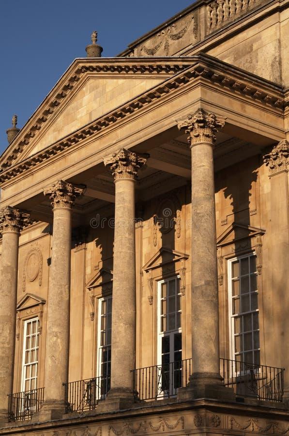 Historic Georgian Building stock photo