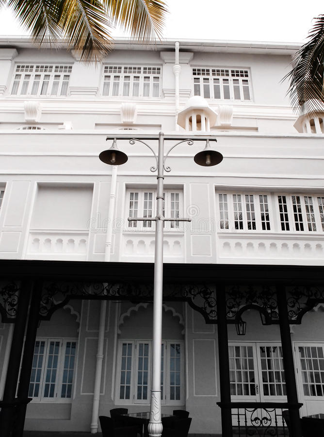 Download Historic Heritage Hotel In Georgetown, Malaysia Stock Image - Image: 27044649