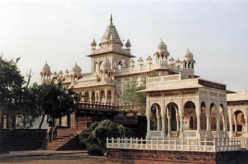 Jaswant thada temple royalty free stock images