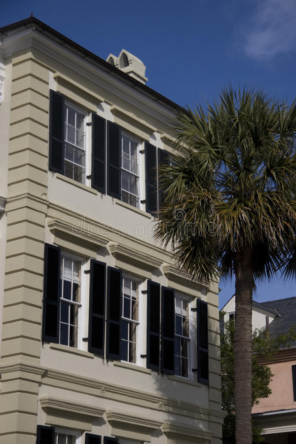 Historic Home In Charleston Royalty Free Stock Images