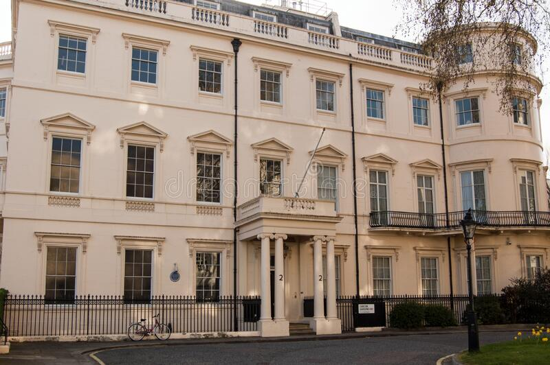 Historic home of Lord Kitchener, Westminster, London stock images