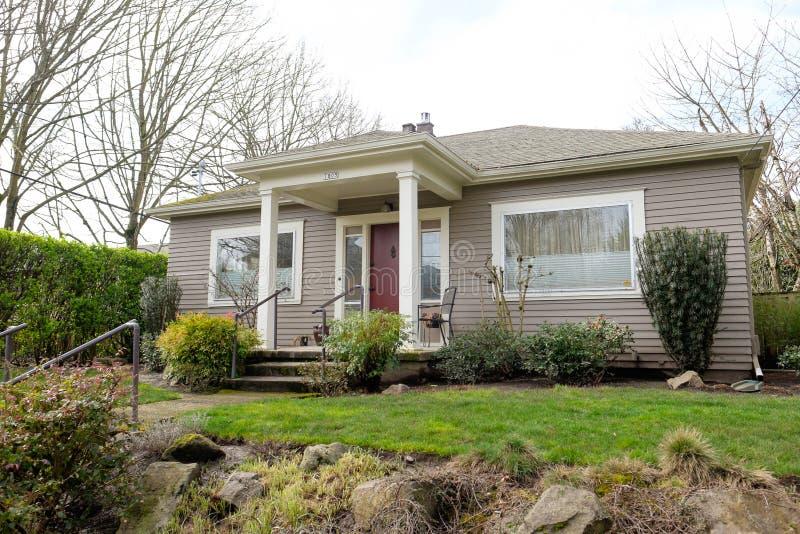 Historic Home Portland Oregon stock photos