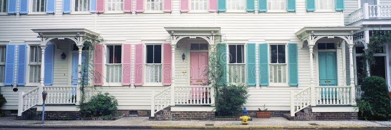 Download Historic homes, stock photo. Image of neighborhood, united - 23162364