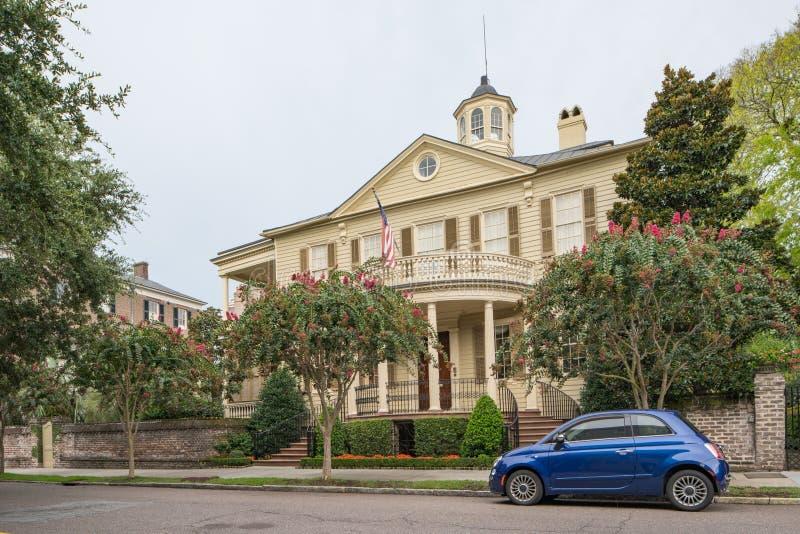 Historic homes in Charleston South Carolina USA royalty free stock photography