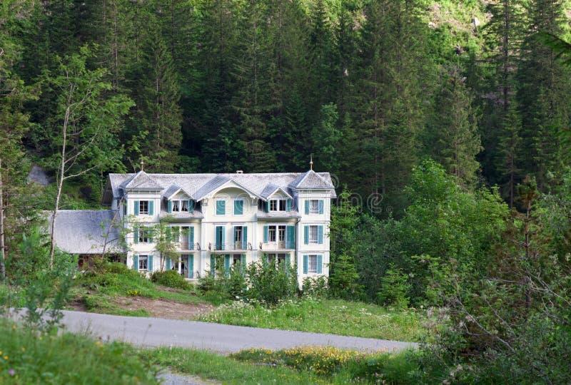 Historic hotel Rosenlaui. Switzerland royalty free stock images