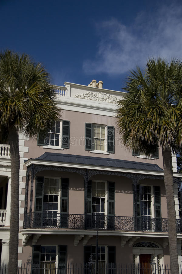 Download Historic House In Charleston Stock Image - Image: 9364043