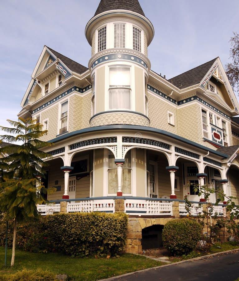 Historic House In San Jose CA Stock Photo