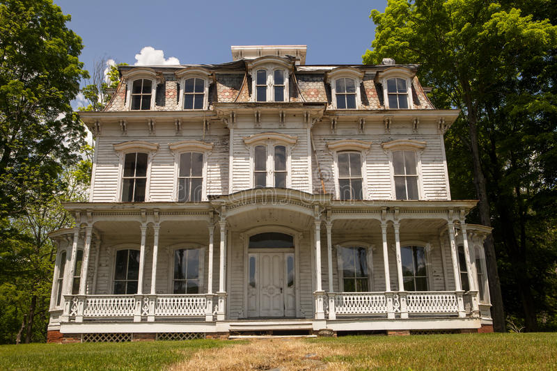 Historic House. An historic house in Waterloo Village in New Jersey stock photography
