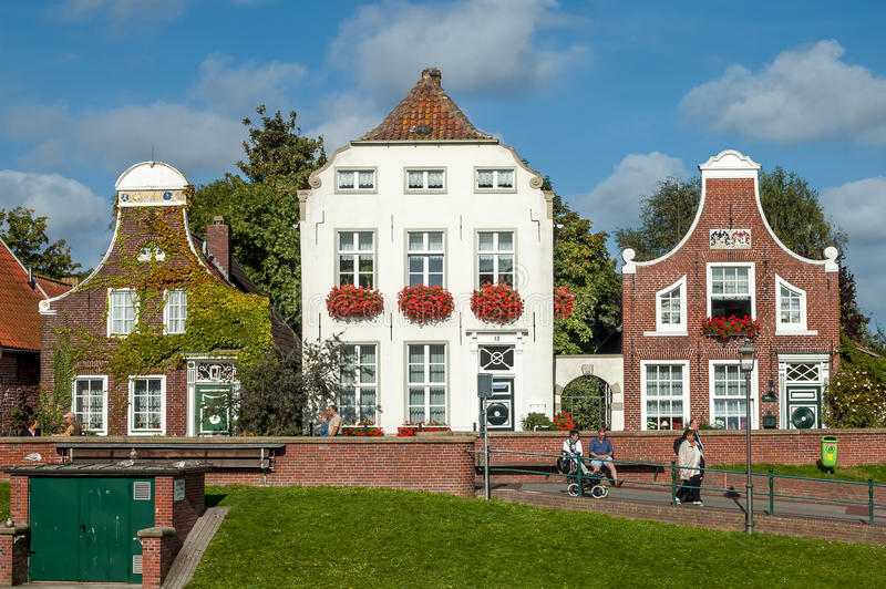 Download Historic Houses In Greetsiel, Germany Editorial Stock Image - Image: 35406674