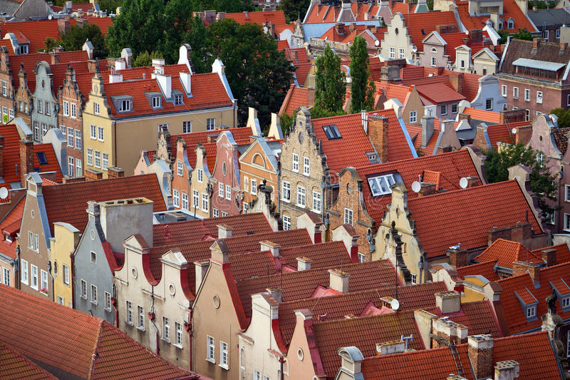Download Historic Houses In Old Town Of Gdansk Stock Photo - Image: 26284582