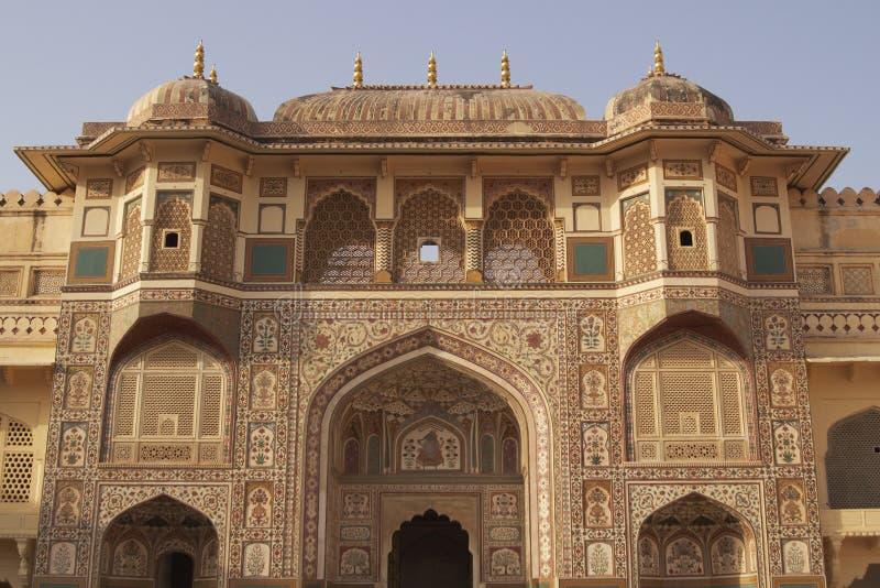 Historic Indian Palace stock photos