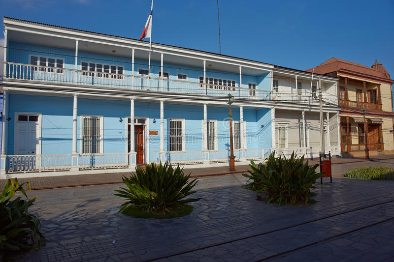 Historic Iquique stock photography