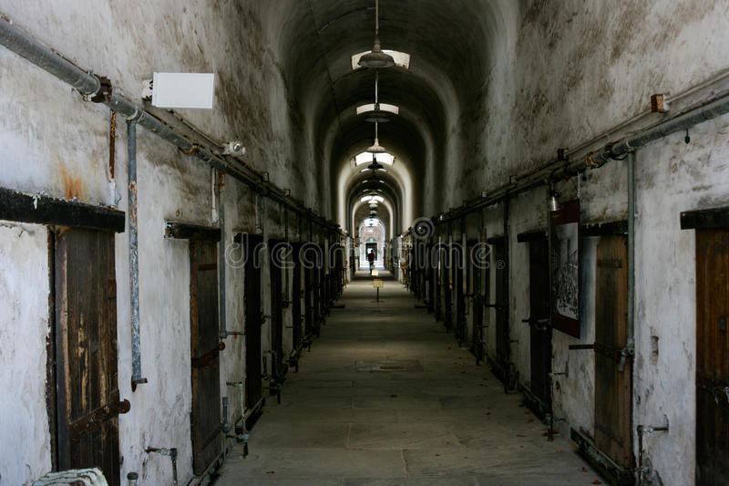 Historic Jail stock photo