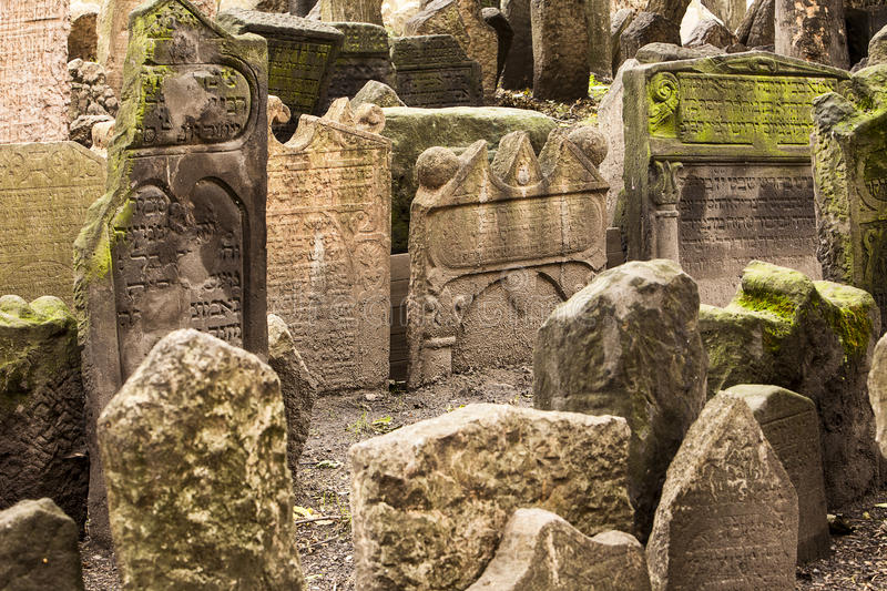 Download Historic Jewish Cemetery In Prague Stock Image - Image: 31373513