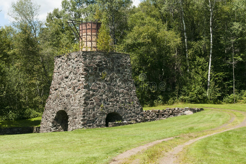 Download Historic Katahdin Iron Works Maine Stock Photo - Image of historic, rural: 32800658