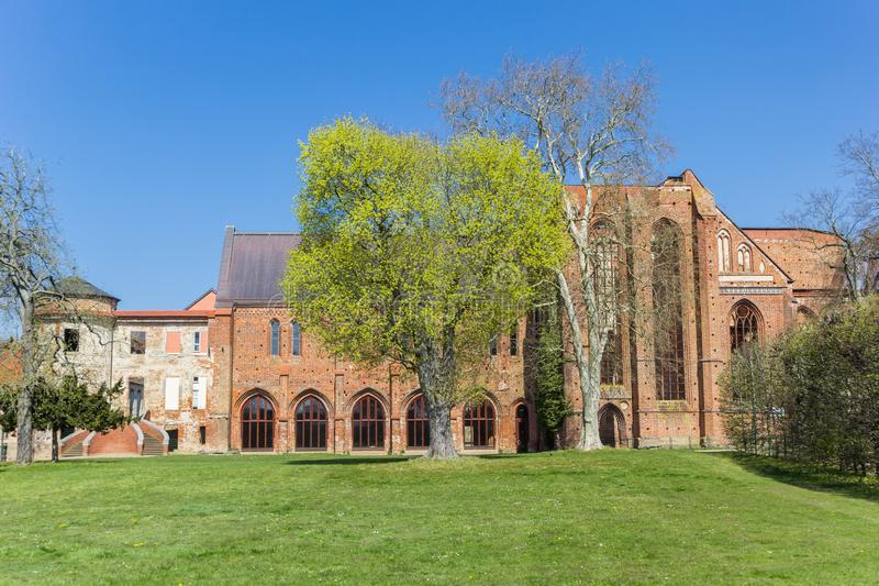 Historic Klosterkirche church at the monastery of Dargun. Germany stock image