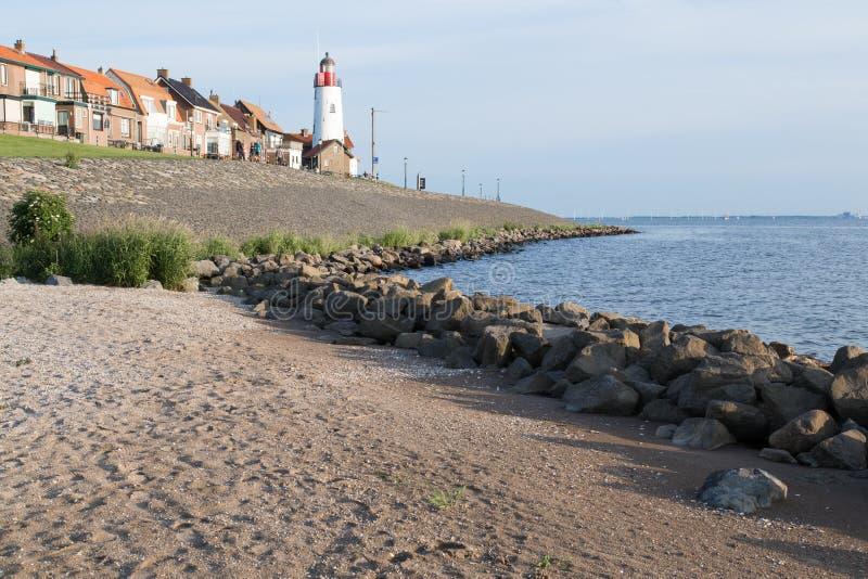 Download Historic Lighthouse Of Urk, The Netherlands Stock Image - Image: 25396215