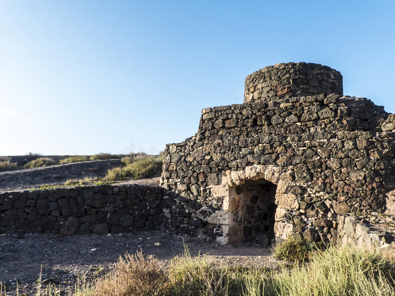 Historic Lime Shaft Kiln royalty free stock image