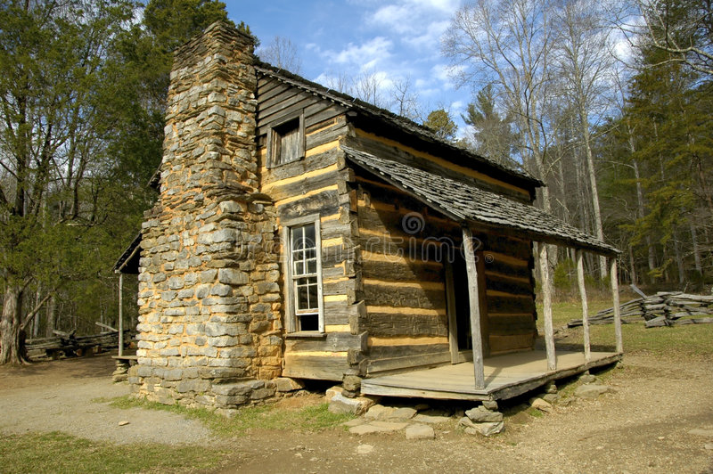 Download Historic Log Cabin stock photo. Image of cottage, cabin - 2491414