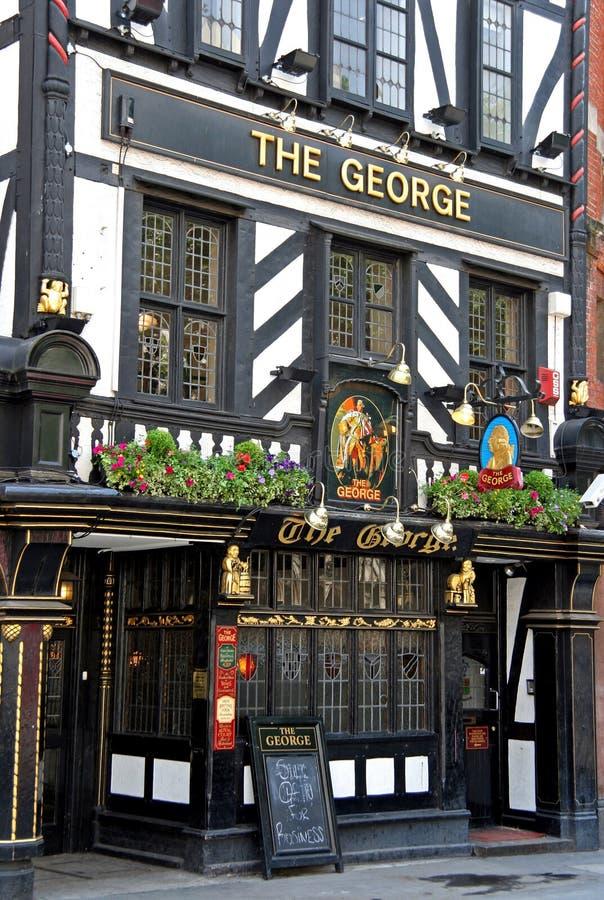 Historic London Pub Editorial Stock Photo
