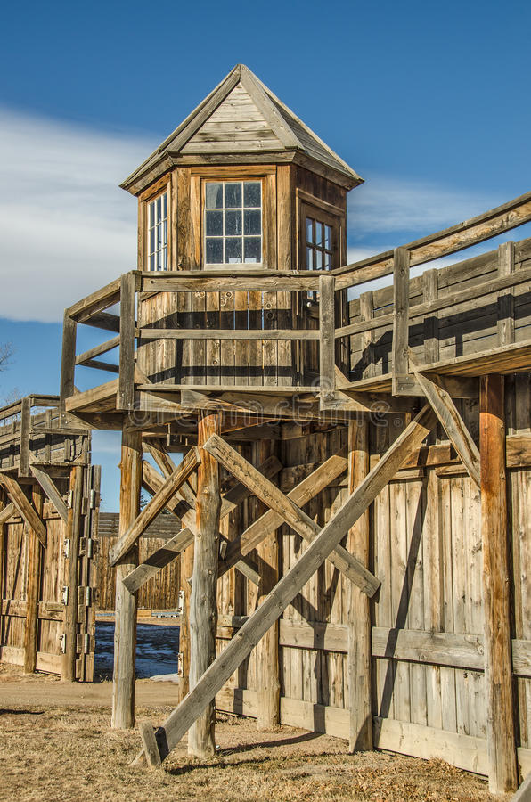 Historic Lookout Tower stock images