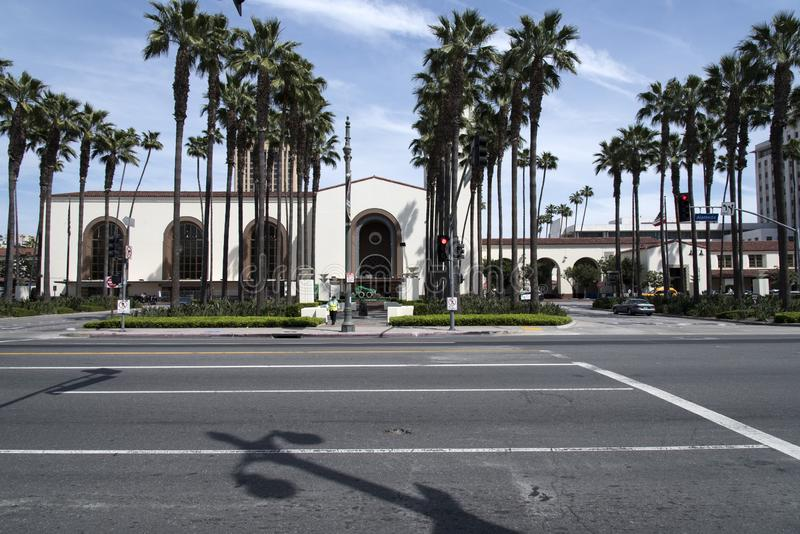 Historic Los Angeles Union Station royalty free stock photography