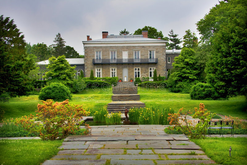 Historic Mansion royalty free stock images